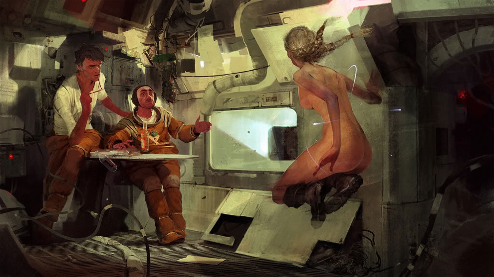 L'arte digitale di Sergey Kolesov aka Peleng | Collater.al