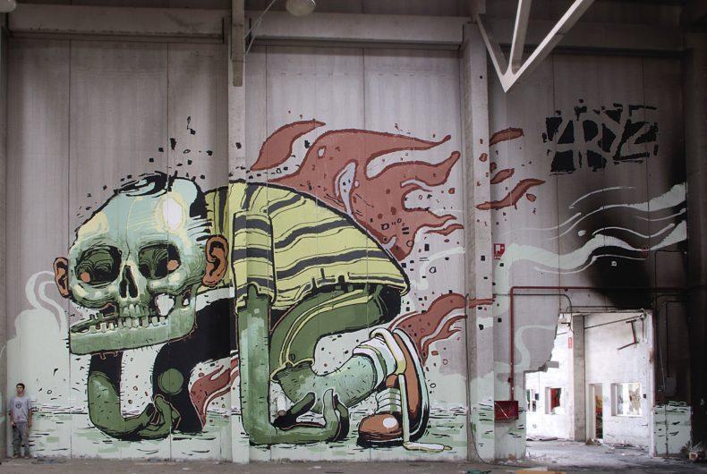 I murales innovativi di ARYZ