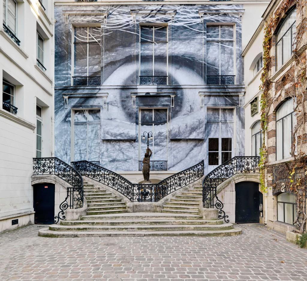 La street art del fotografo e artista francese JR | Collater.al