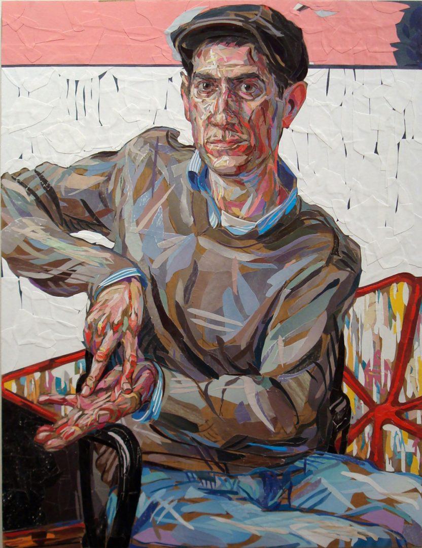 I lavori di Elbow Toe, tra street art e pittura | Collater.al