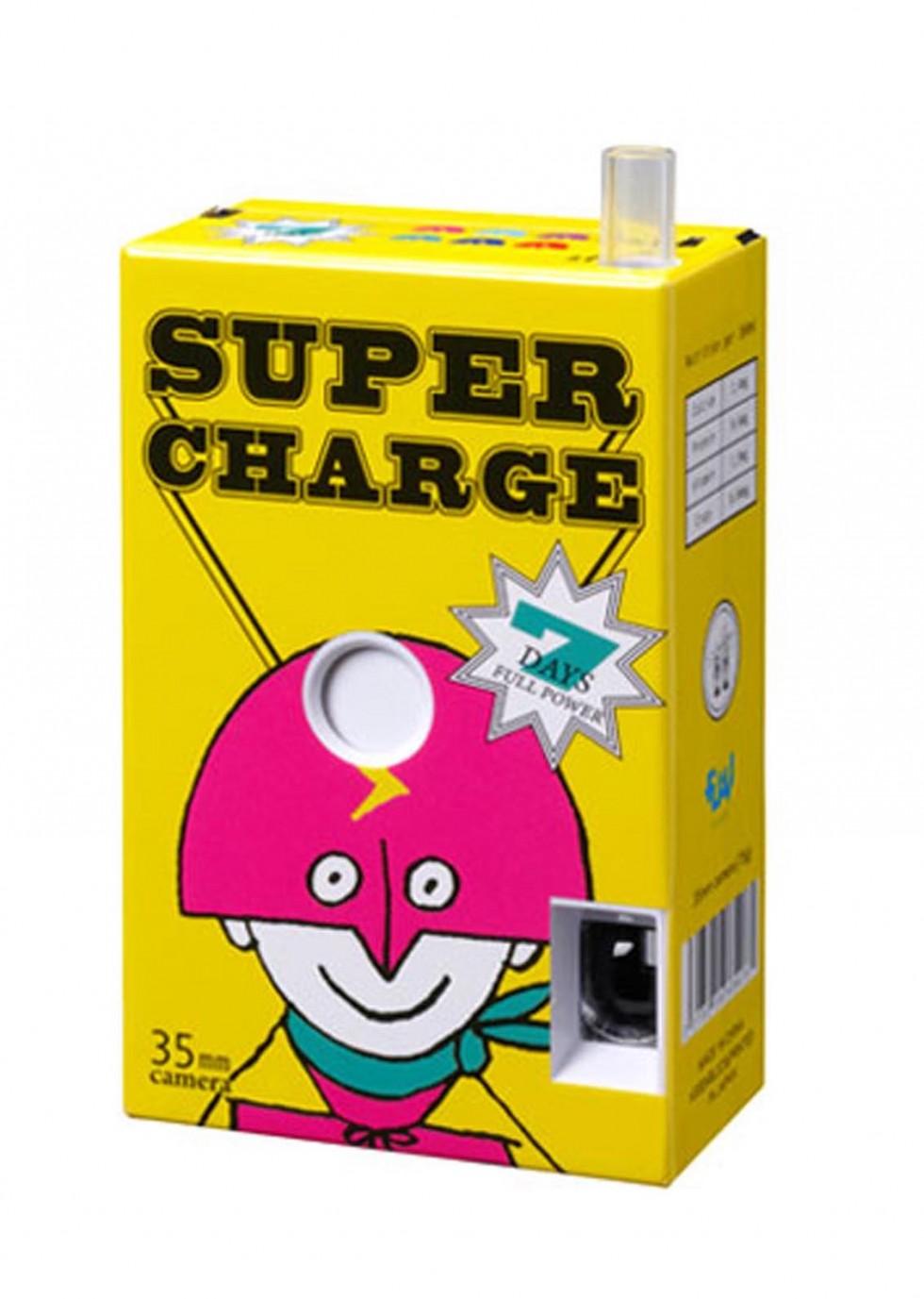 Juice Box - Le macchine fotografiche a forma di succo di frutta | Collater.al
