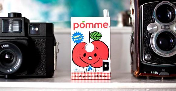 Juice Box - Le macchine fotografiche a forma di succo di frutta | Collater.al evd