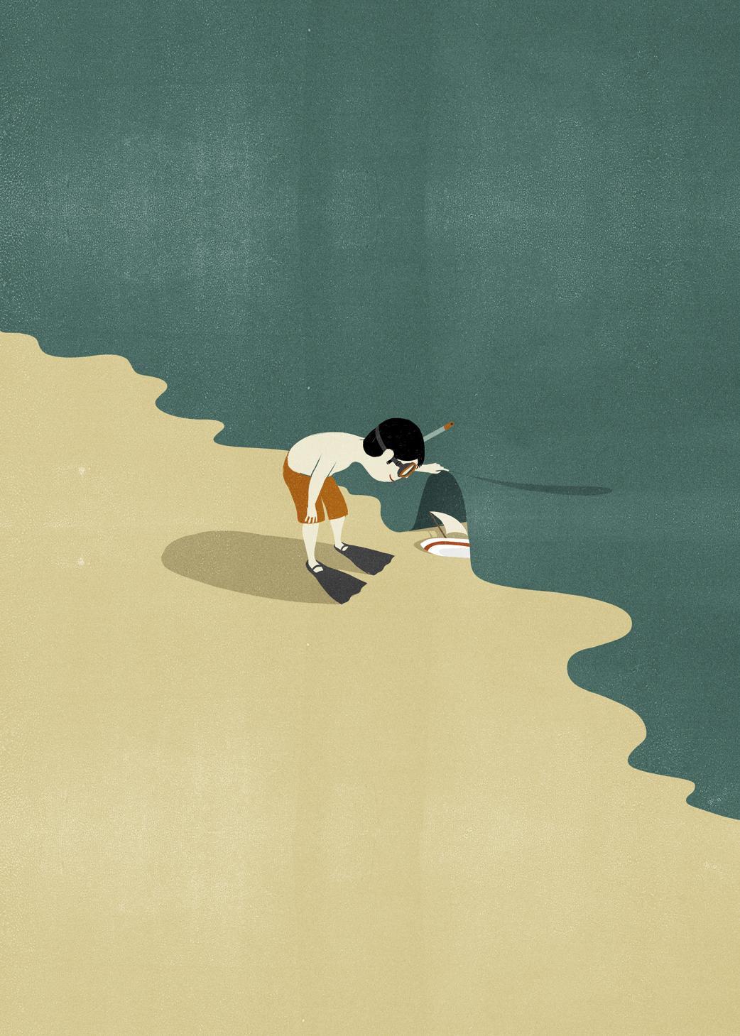 Le illustrazioni di Alessandro Gottardo aka SHOUT