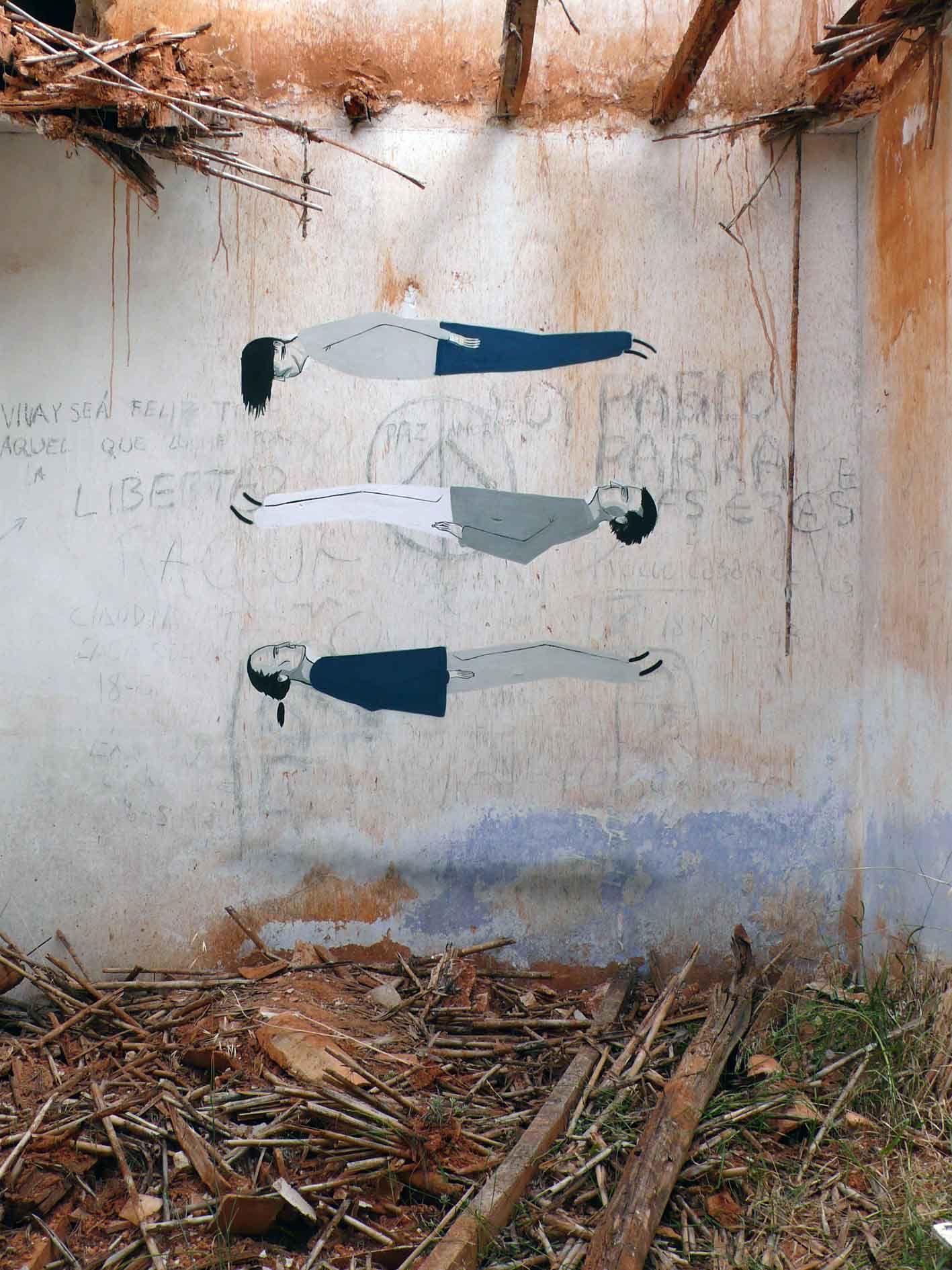 La street art surreale e sovversiva dello spagnolo Escif | Collater.al