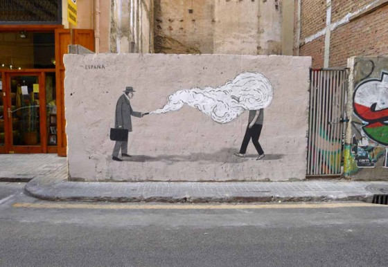 Escif - Surrealist Street Art