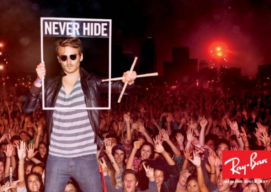 Ray Ban - Never Hide - Campagna video multisoggetto firmata Cutwater