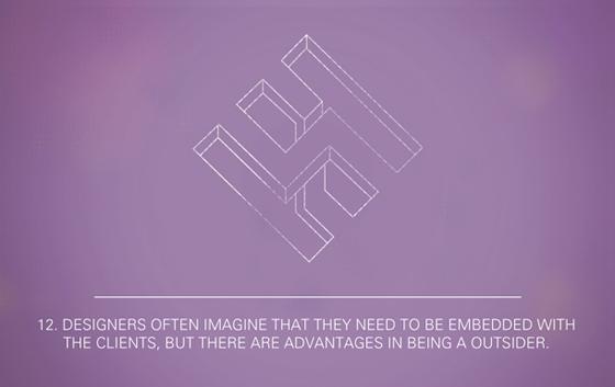 I 12 paradossi del graphic design illustrati da Tobias Bergdahl