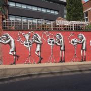 Pleghm - street artist e fumettista gallese esperto in graffiti