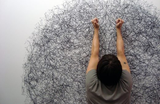 Tony Orrico – Drawing Performance
