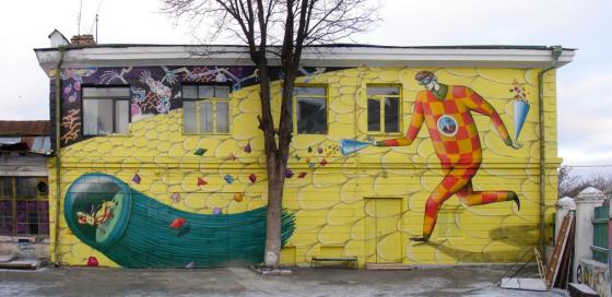 Interesni Kazki - Street Art: Duo di writer ucraini