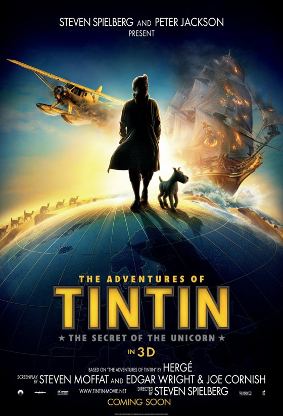 The Adventures of Tintin: The Secret of the Unicorn - Poster