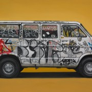Van Series - I furgoni dipinti di Kevin Cyr | Collater.al