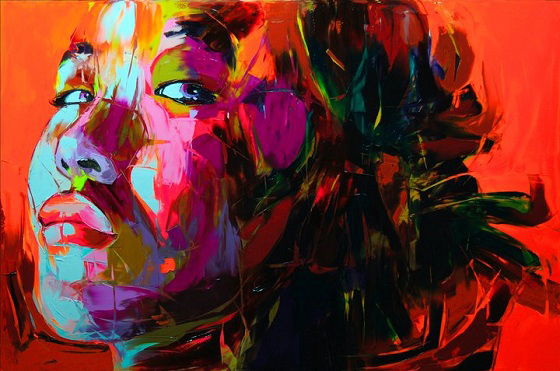 Françoise Nielly - Fluo Painting - Dipinti ad olio