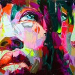 Françoise Nielly – Fluo Painting – Dipinti ad olio