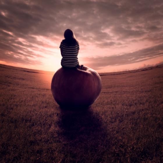 Anja Stiegler - Fotografa surrealista tedesca del sogno
