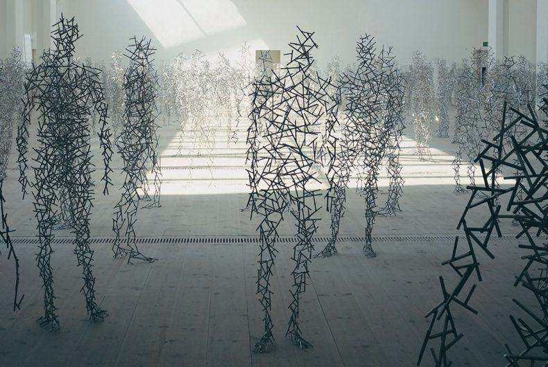 Le sculture antropomorfe di Antony Gormley