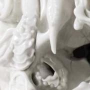 Katsuyo Aoki. Predictive Dream: serie di teschi in ceramica.