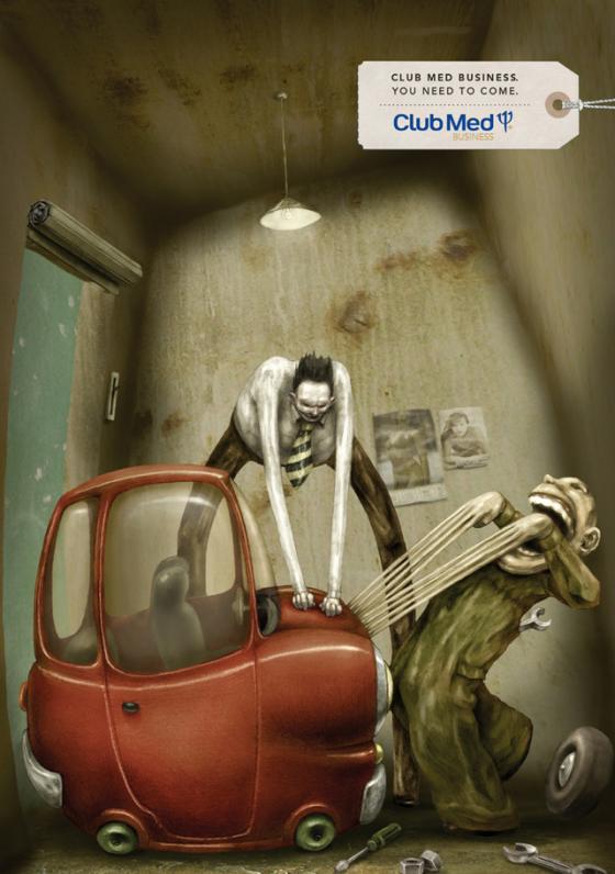 You Need To Come - Campagna stampa multisoggetto firmata Publicis Graffiti