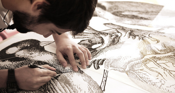 Wired - Infart + Lucamaleonte: come fare uno stencil.