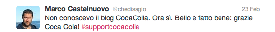 #supportcocacolla #beCollateral