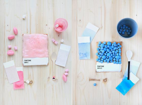 Pantone Tarts - Crostate a forma di palette Pantone