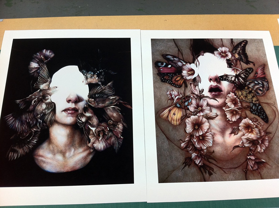Marco Mazzoni - Illustrazioni a matite colorate su carta