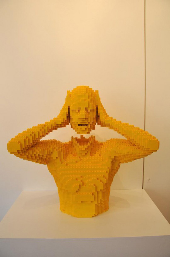 Nathan Sawaya – The art of the brick - Sculture realizzate con mattoncini Lego