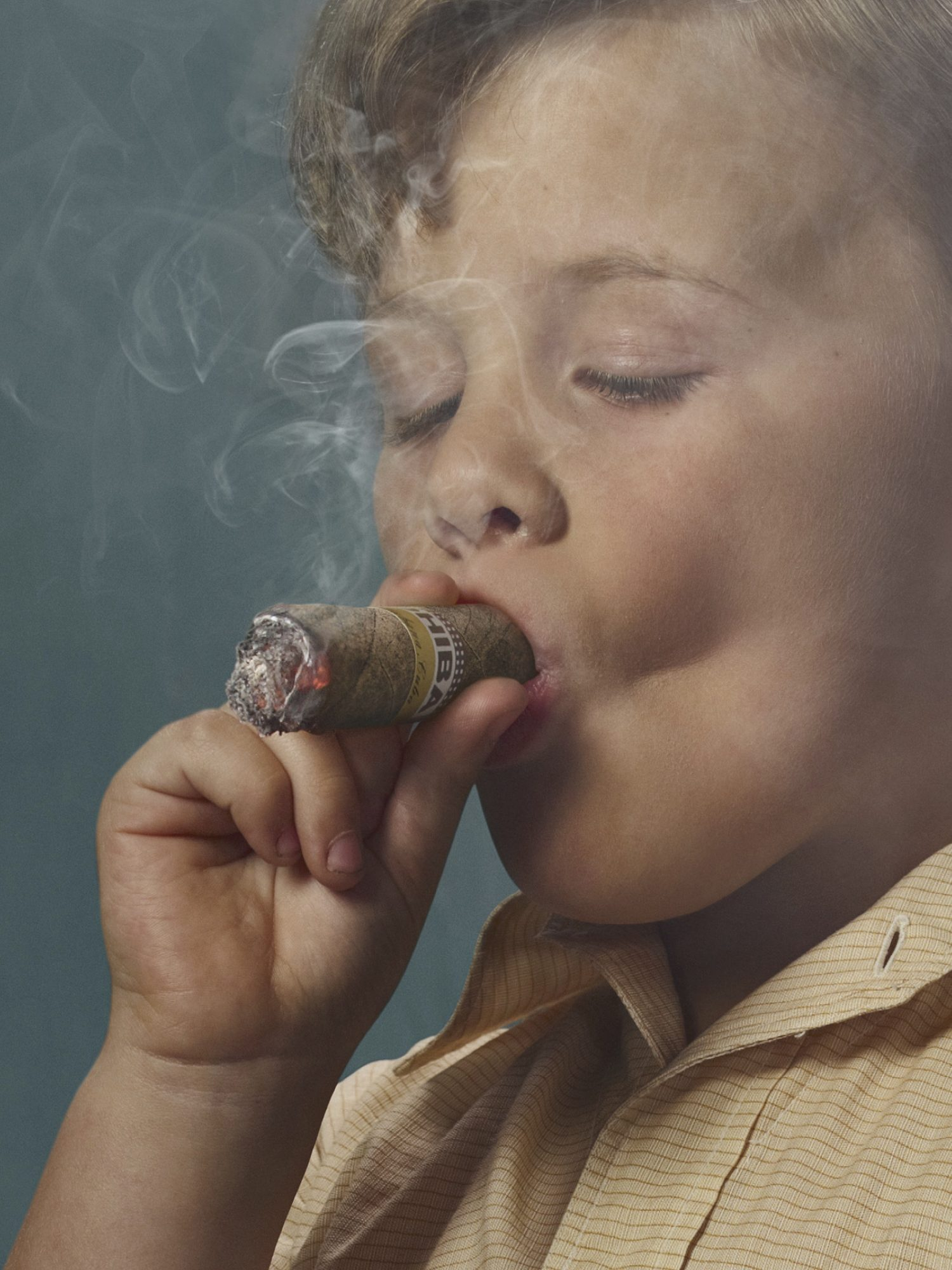 Smoking Kids, la serie di Frieke Janssens
