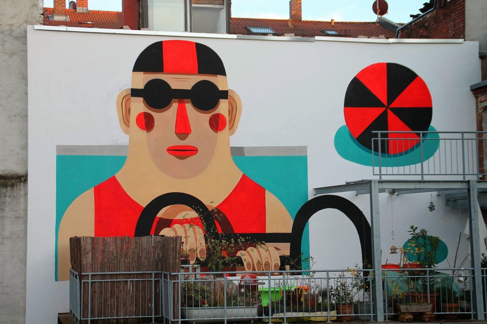 Le street art illustrata di Agostino Iacurci