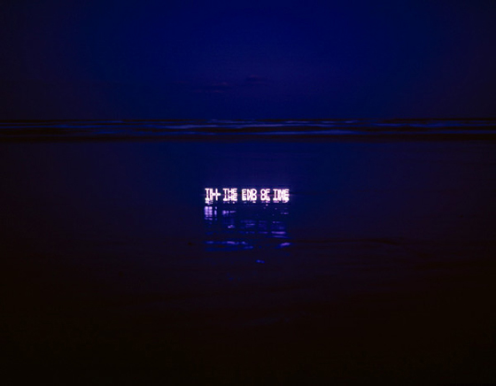 Aporia - Lee Jung - Neon text installations