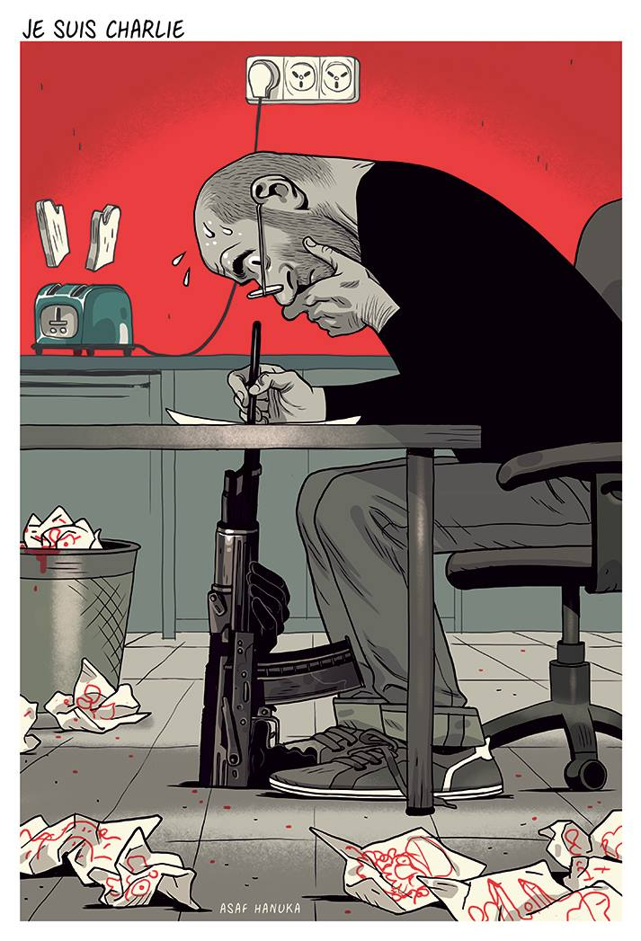 Asaf Hanuka - Illustratore e comic book artist | Collater.al