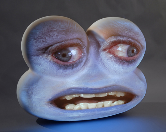 Tony Oursler - Video Scultura
