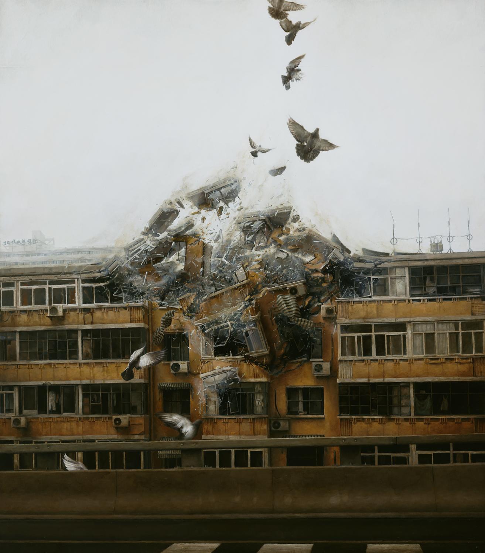I dipinti fotorealistici di Jeremy Geddes | Collater.al