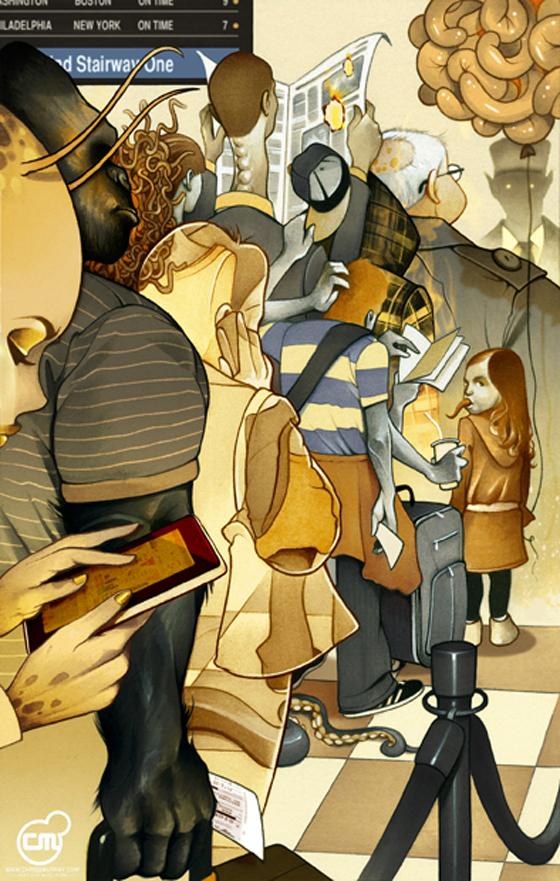 Chris B. Murray - Illustratore americano