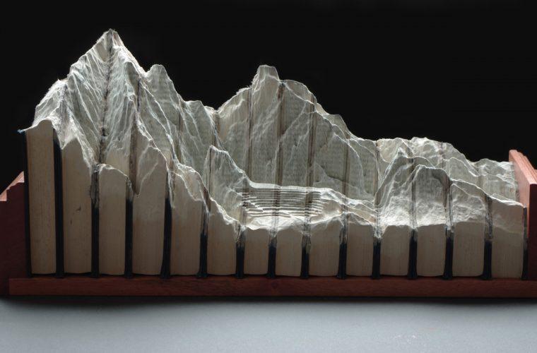 Guy Laramee – Book Sculptures