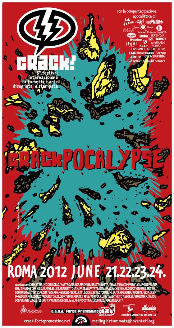 Crack! Fumetti dirompenti: Crackapocalypse 2012