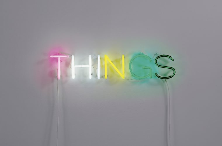 I Neon Works dell'artista inglese Martin Creed