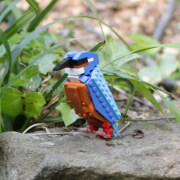 British Birds - Uccelli costruiti con i Lego-evid