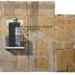 Cardboard Building - Edifici dipinti a stencil su cartone