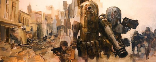 Ashley Wood - Illustratore e comic book artist australiano
