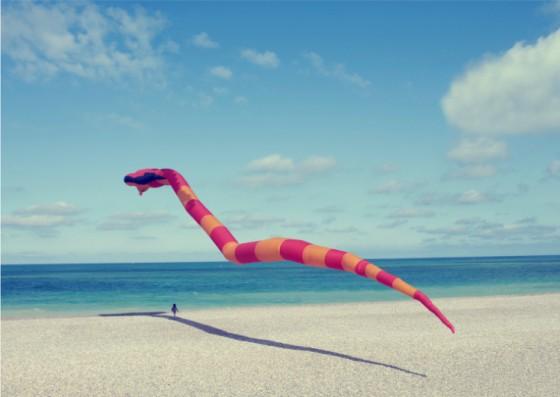 René & Radka - Au dessus des vents - Colors of the wind - Fotografie di enormi mostri gonfiabili
