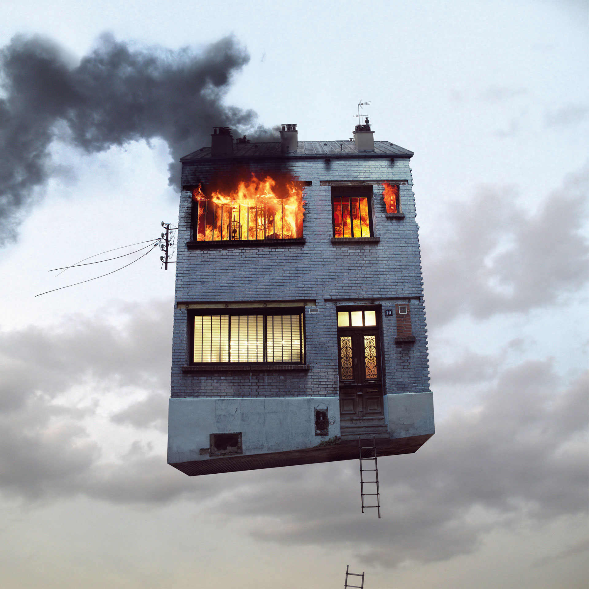 Flying Houses, le case volanti di Laurent Chehere | Collater.al