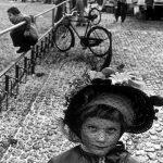 Martine Franck , moglie di Cartier-Bresson – 1977 Switzerland basel Carnival