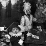 Martine Franck , moglie di Cartier-Bresson – Belgium 1975 Binche Carnival