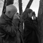 Martine Franck , moglie di Cartier-Bresson – H.C. Bresson and his daughter Mélanie