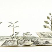 Yuken Teruya - Paper Art - Oggetti di carta trasformati in paessaggi naturali.
