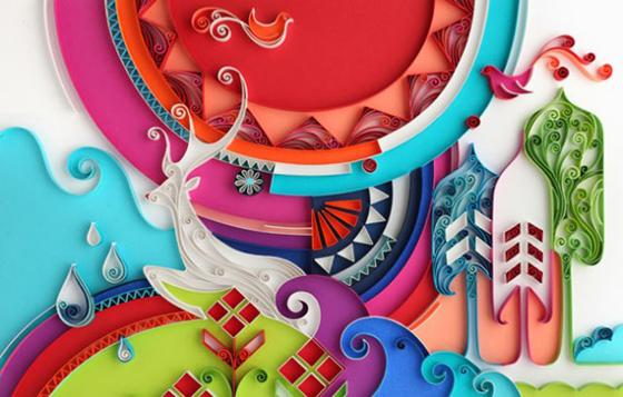 Yulia Brodskaya – Paper Illustration