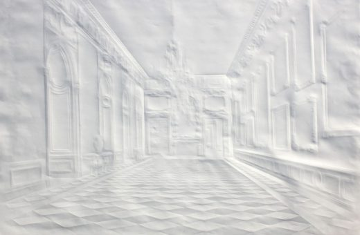 Paper Interior Artworks by Simon Schubert