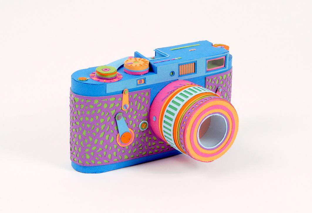 Что можно сделать из бумаги фотоаппарат открытки, днем рождения