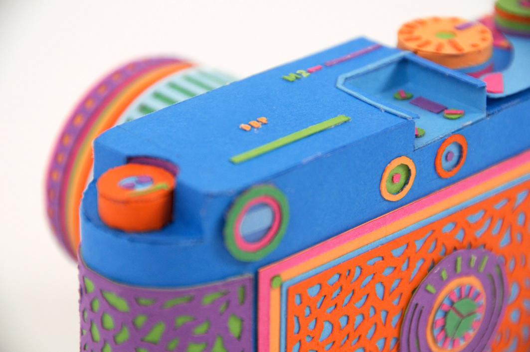 Back to Basics, le tecnologie anni '80 in paper art di Zim & Zou   Collater.al